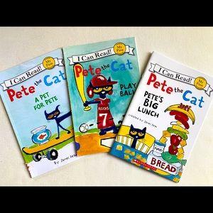 Pete the Cat 3 pack books